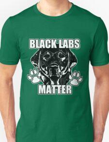 BLACK LABS MATTER 2 Unisex T-Shirt