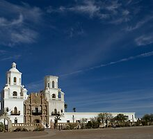San Xavier Mission 2 by Angela Pritchard