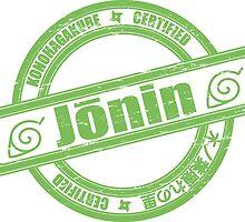 Konoha Jonin Green Distressed by Methrade
