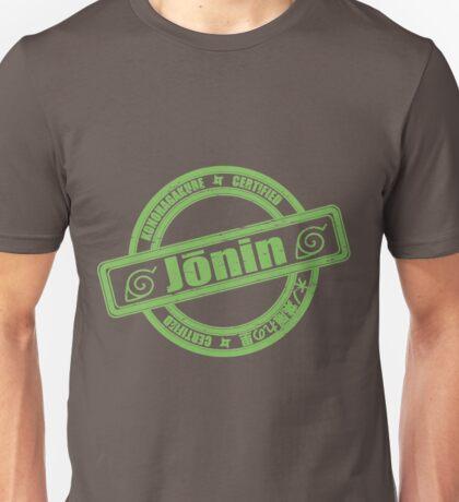 Konoha Jonin Green Distressed Unisex T-Shirt