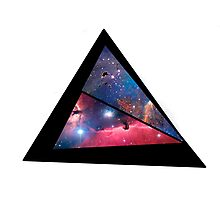 Abstract triangle Photographic Print