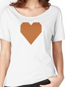 Ruddy Brown  Women's Relaxed Fit T-Shirt