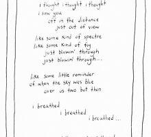 Poem - Some Kind of Fog by inktruffle