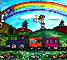 Rainbow Delight by Monica Engeler