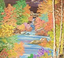 Water Trail by Ginger Lovellette