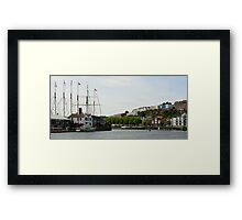 Bristol Harbourside, Clifton and Hotwells Framed Print