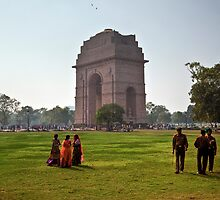 India Gate by Roddy Atkinson