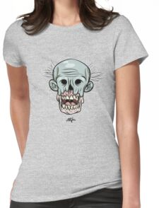 zombie head Womens Fitted T-Shirt