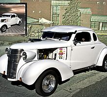 "1938 Chevrolet Coupe ""Street Dragster"" by TeeMack"