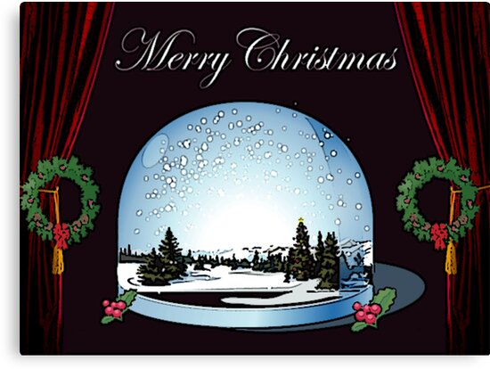 An old-fashioned Christmas Card by sarnia2