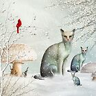 The Winter Cats by Elaine  Manley