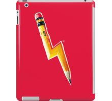 Pencil Lightning iPad Case/Skin