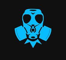 Blue Gasmask Zipped Hoodie