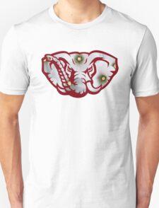 Alabama Elephant Logo-White Filling Unisex T-Shirt