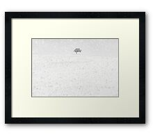 Snow Scape Framed Print