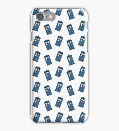 The Tardis Pattern iPhone Case/Skin