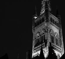 Tower of the University of Glasgow by Daniel Williams
