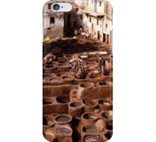 man in the red hat iPhone Case/Skin