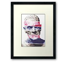 Mummy, A ball point pen portrait Framed Print
