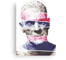 Mummy, A ball point pen portrait Canvas Print