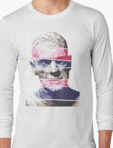 Mummy, A ball point pen portrait Long Sleeve T-Shirt