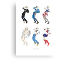 SILLY CAPTAIN Metal Print