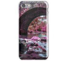 Purple bridge iPhone Case/Skin