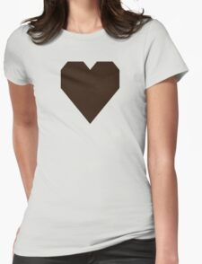 Zinnwaldite Brown Womens Fitted T-Shirt