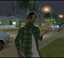 Dread head from GTA by yung-indigo