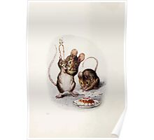 The Tale of Two Bad Mice Beatrix Potter 1904 0008 Interior Panel Poster