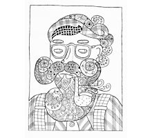 Man-dala Gerald Photographic Print