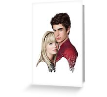 GWEN & SPIDEY Greeting Card