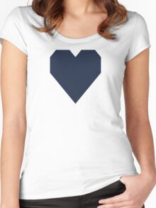 Yankee Blue  Women's Fitted Scoop T-Shirt