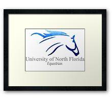 UNF Equestrian Framed Print