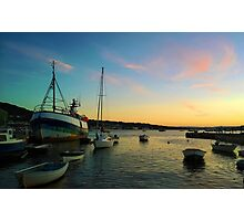 Boats fishing Photographic Print