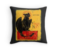 Fury of the Night - Vintage Edition Throw Pillow
