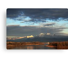 West Coast Winter Canvas Print