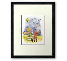 Petit prince Framed Print
