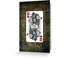 Mirror Woman Greeting Card