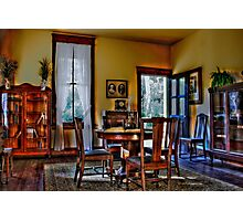 The Sitting Room Photographic Print