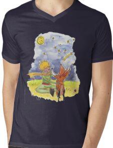 Petit prince Mens V-Neck T-Shirt