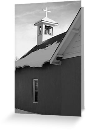 United Methodist Church~Vallecitos, New Mexico by Giamarie