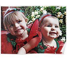 Little Girls -Santa Helpers- #1 Poster