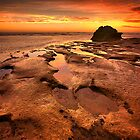 Receding Tide - Point Lonsdale by Hans Kawitzki