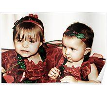 Little Girls -Santa Helpers- #2 Poster
