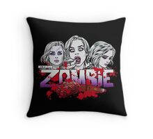 I'm a Zombie - Variant  Throw Pillow