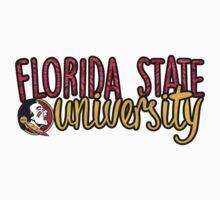 Florida State University Two Tone by katiefarello
