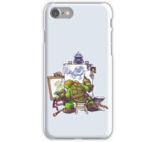 Ninja Rockwell iPhone Case/Skin