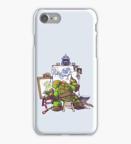 Ninja Rockwell iPhone Case/Skin