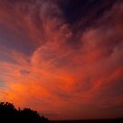Fire in the sky by Specka